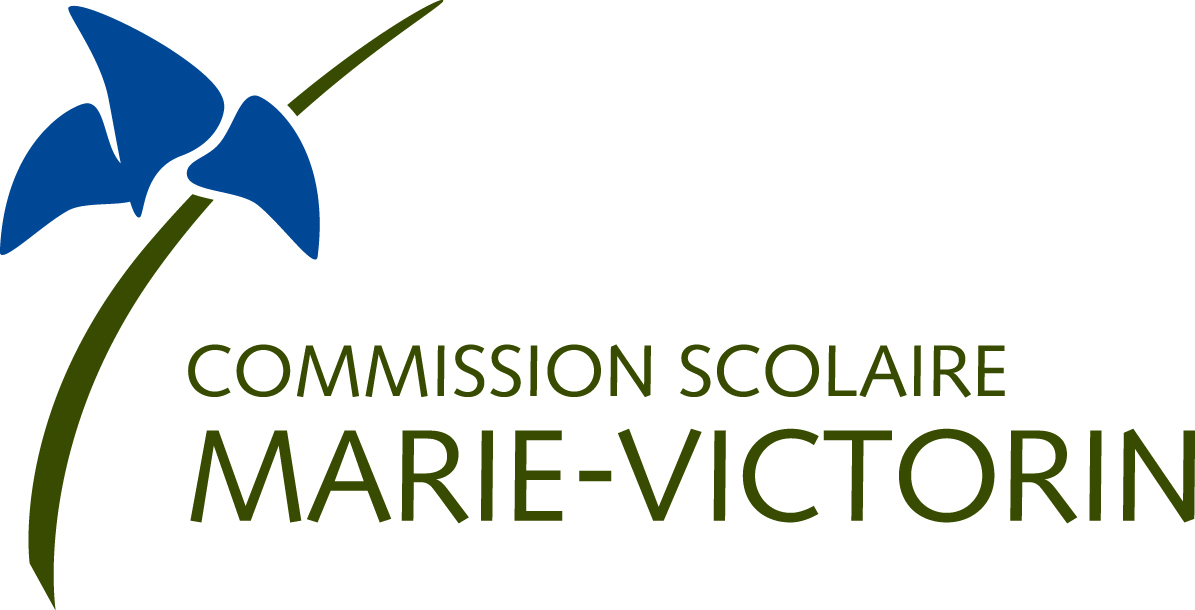 Logotype | Commission scolaire Marie-Victorin
