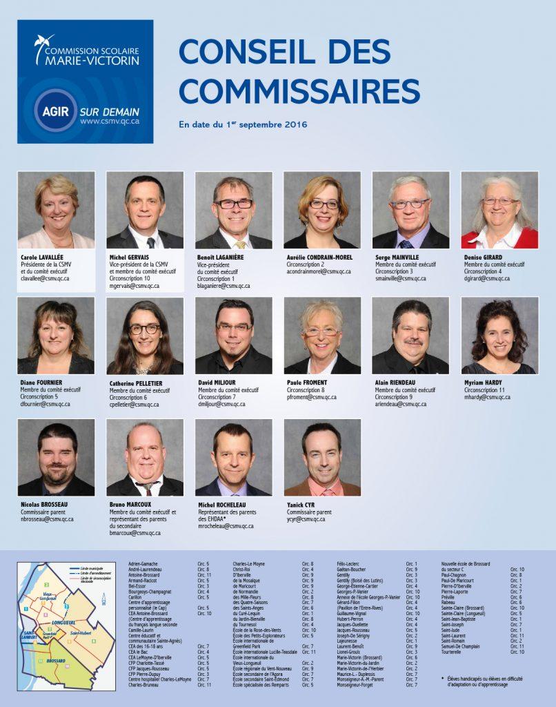 CSMV - Conseil des commissaires 2016