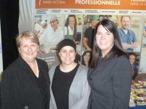 L'événement s'est déroulé en présence de la présidente de la CSMV, madame Carole Lavallée, la présidente du conseil d'établissement du CFP Pierre-Dupuy, madame Annie Sauvé et la directrice du Centre, madame Josée Barrette.
