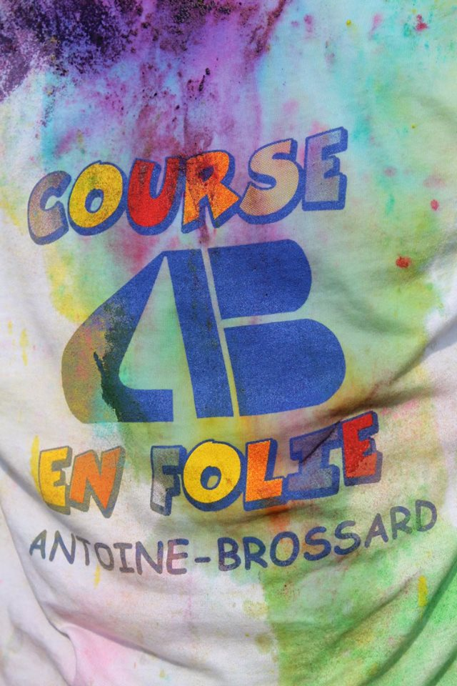 Premi re dition de la course en folie l 39 cole for Antoine brossard piscine